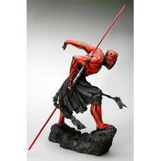 Figurka Star Wars ARTFX 1/7 Darth Maul Japanese Ukiyo-E Style Light-Up Edition