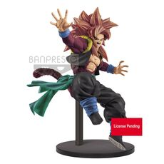 Figurka Super Dragon Ball Heroes - Super Saiyan 4 Gogeta Xeno 9th Anniversary