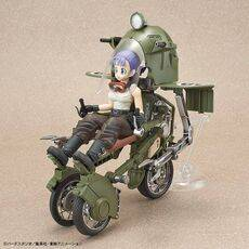 Figurka do złożenia Dragon Ball - Bulma No.19 Motorcycle
