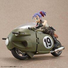Figurka do złożenia Dragon Ball - Bulma No.19 MotorcycleFigurka do złożenia Dragon Ball - Bulma No.19 Motorcycle