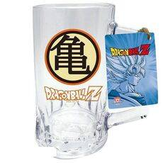 Kufel szklany Dragon Ball - Kame symbol (500 ml)