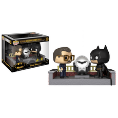 Diorama DC Comics Batman's 80th POP! Movie Moment - Batman with Light Up Bat Signal