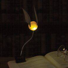 Mini Lampka z klipsem Harry Potter - Golden Snitch