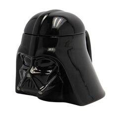 Kubek ceramiczny z pokrywką Star Wars 3D - Darth Vader (350 ml)