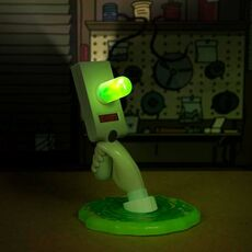 Lampka Rick & Morty LED - Portal Gun