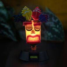 Mini Lampka Crash Bandicoot 3D - Aku Aku