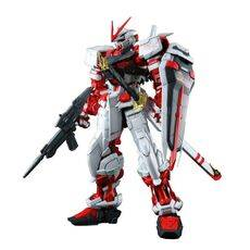 Model figurki GUNDAM Rg 1/144 Mbf-P02 Gundam Astray Red Frame