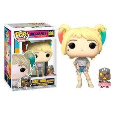 Figurka Birds of Prey POP! - Harley Quinn & Beaver