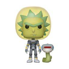 Figurka Rick and Morty POP! - Space Suit Rick with Snake