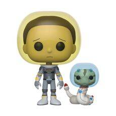 Figurka Rick and Morty POP! - Space Suit Morty with Snake