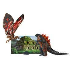 Zestaw figurek Godzilla King of the Monsters - Fire Godzilla & Mothra 9 cm, zdjęcie 1