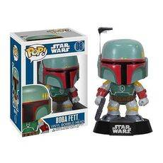Figurka Star Wars POP! Vinyl Bobble-Head Boba Fett 10 cm