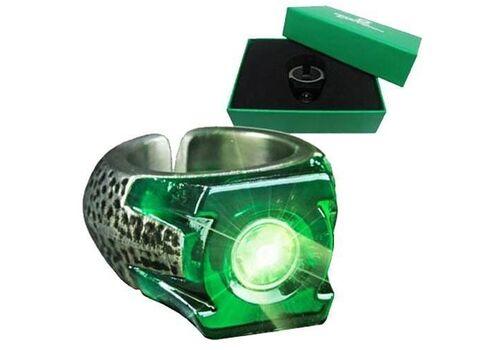 Pierścień Green Lantern filmowy (podświetlany)