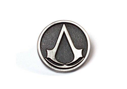 Przypinka z metalu Assassin's Creed - Logo 2 cm