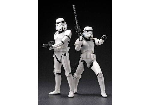 Zestaw figurek Star Wars ARTFX+ Statue 2-Pack Army Builder Stormtroopers 18 cm