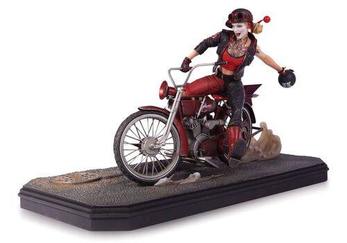 Figurka Gotham City Garage - Harley Quinn