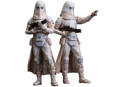 Zestaw figurek Star Wars ARTFX+ 2-Pack Snowtrooper 18 cm