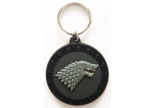 Brelok gumowy Gra o Tron - Stark
