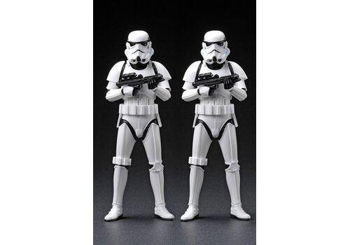 Zestaw figurek Star Wars ARTFX+ 2-Pack Army Builder Stormtroopers 18 cm