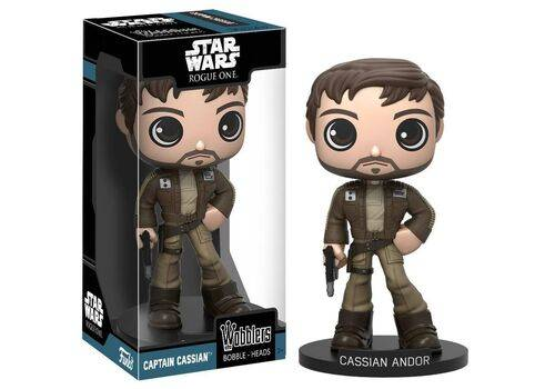 Figurka Star Wars Rogue One Bobble-Head Cassian Andor 15 cm