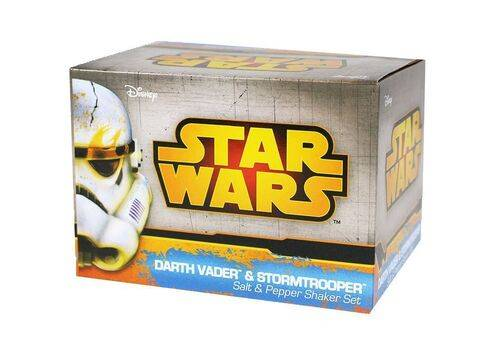 Zestaw solniczka i pieprzniczka Star Wars - Darth Vader & Stormtrooper