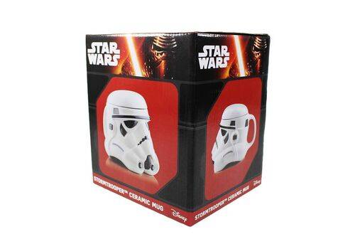 Kubek ceramiczny z pokrywką Star Wars 3D - Stormtrooper (650 ml)