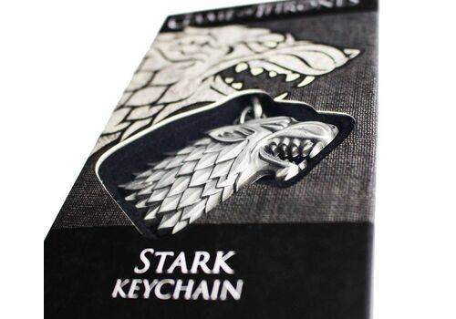 Brelok z metalu Gra o Tron - Stark