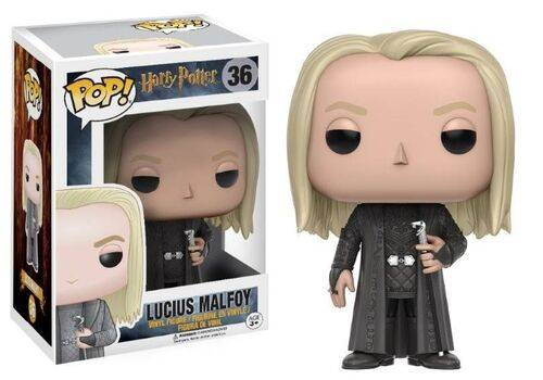 Figurka Harry Potter POP! - Lucius Malfoy 9 cm