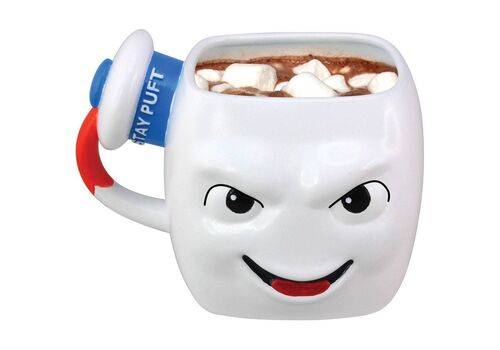 Kubek ceramiczny 3D Ghostbusters - Stay Puft Marshmallow Man
