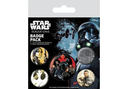 Przypinki Star Wars Rogue One - Rebel (5 szt.)