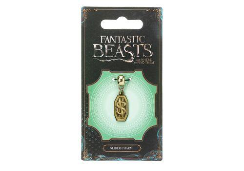 Wisiorek Fantastyczne zwierzęta - Newt Scamander Logo