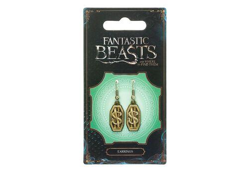 Kolczyki Fantastyczne zwierzęta - Newt Scamander Logo