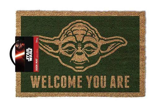 Wycieraczka Star Wars Yoda - Welcome You Are 40 x 60 cm
