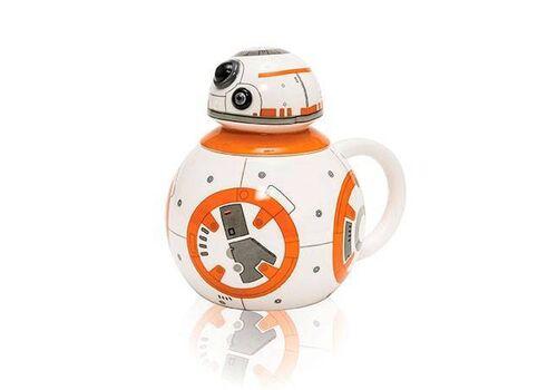 Kubek ceramiczny z pokrywką Star Wars 3D - BB-8