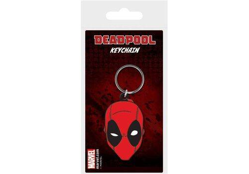 Brelok gumowy Marvel Comics - Deadpool Face