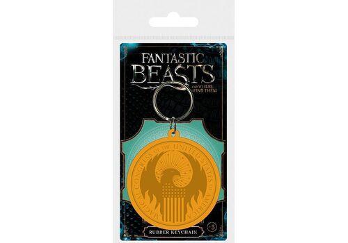 Brelok gumowy Fantastyczne zwierzęta - Macusa Logo