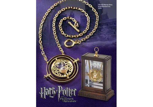 Naszyjnik wraz z gablotką Harry Potter - Zmieniacz Czasu (pozłacany)