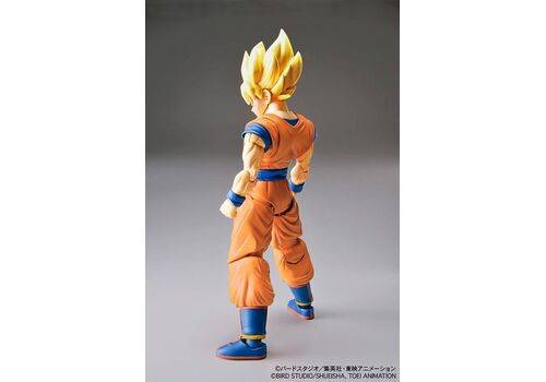 Model figurki do złożenia Dragonball Z - Super Saiyan Son Goku 13 cm