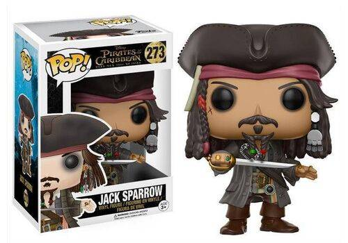 Figurka Pirates of the Caribbean Dead Men Tell No Tales POP! - Jack Sparrow 9 cm