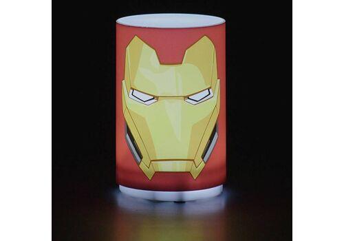 Mini Lampka Marvel Avengers - Iron Man (z dźwiękiem) 11 cm