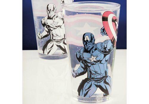 Szklanka zmieniająca kolor Marvel - Captain America