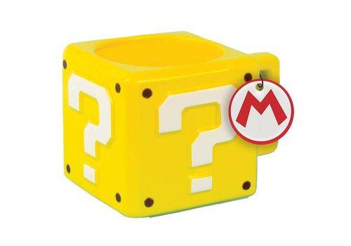 Kubek Super Mario - Question Block