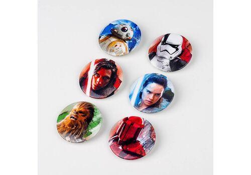 Przypinki Star Wars The Last Jedi (Zestaw sześciu)