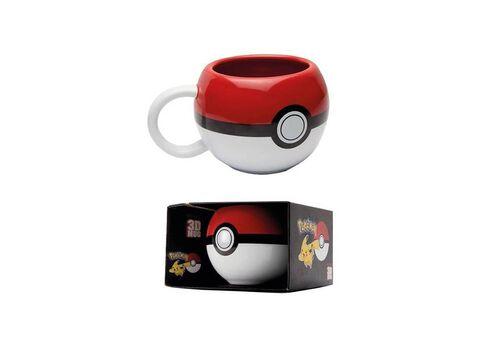 Kubek ceramiczny Pokemon 3D - Pokeball, zdjęcie 6