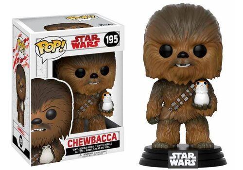 Figurka Star Wars Episode VIII POP! - Chewbacca & Porg 9 cm