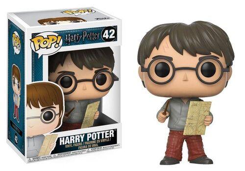 Figurka Harry Potter POP! - Harry Potter with Marauders Map 9 cm
