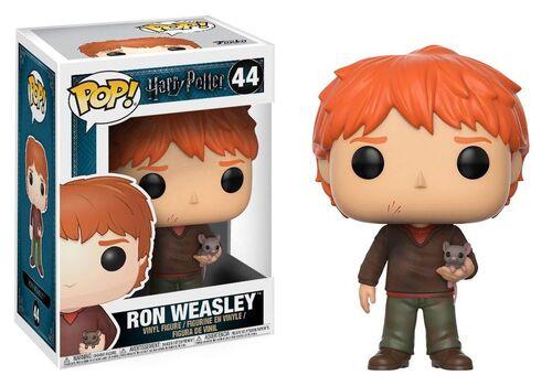 Figurka Harry Potter POP! - Ron Weasley with Scabbers