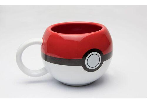 Kubek ceramiczny Pokemon 3D - Pokeball, zdjęcie 1