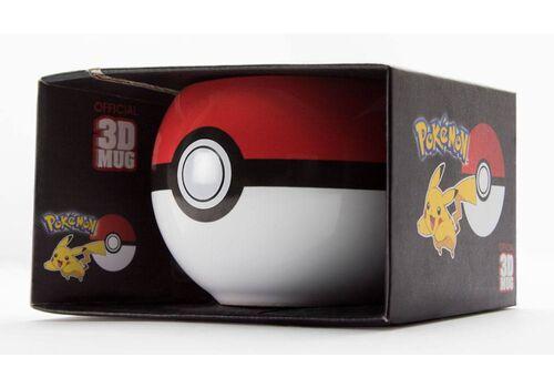 Kubek ceramiczny Pokemon 3D - Pokeball, zdjęcie 2