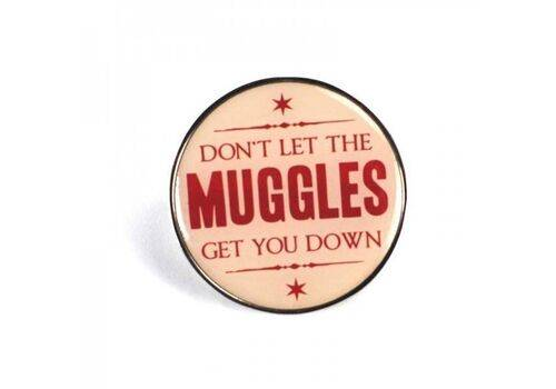 Przypinka z metalu Harry Potter - Muggles